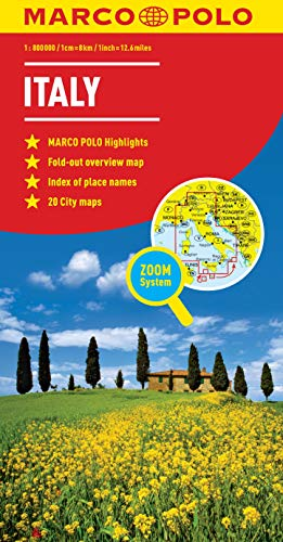 Italy Marco Polo Map (Marco Polo Maps) from MAIRDUMONT GmbH & Co. KG