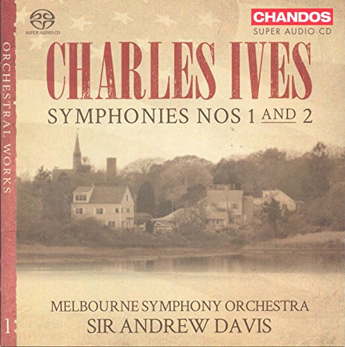 Ives: Symphonies, Nos. 1 and 2 from CHANDOS