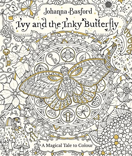 Ivy and the Inky Butterfly (Colouring Books) from Virgin Books