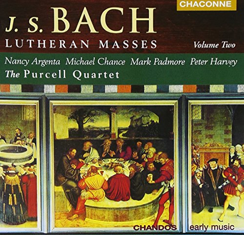 J S Bach: Lutheran Masses, Vol.2 from CHANDOS GROUP
