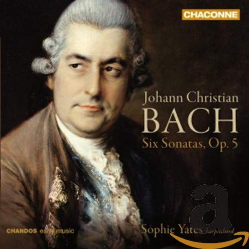 J.C Bach: 6 Sonatas for Harpsichord op5 from CHANDOS GROUP