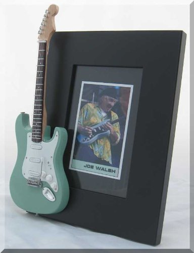 JOE WALSH Miniature Guitar Photo Frame Eagles from ARTSTUDIO35