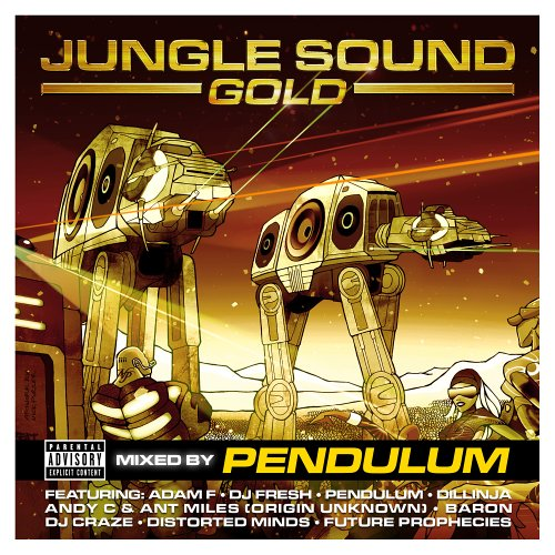 JUNGLE SOUND GOLD MIXED BY PENDULUM