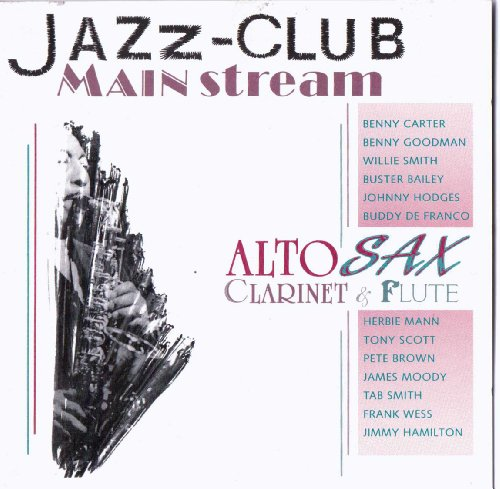 Jazz Club Mainstream: Alto Sax, Clarinet & Flute