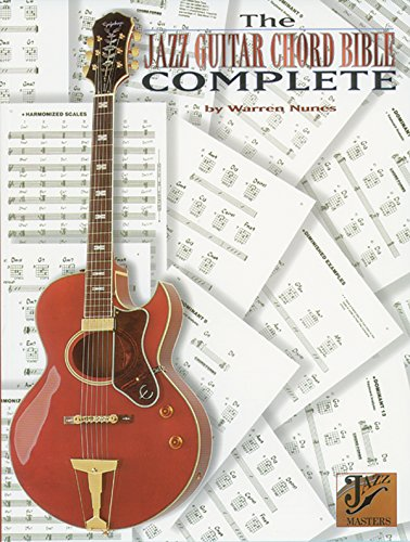 Jazz Guitar Chord Bible Complete (Jazz Masters) from Alfred Music