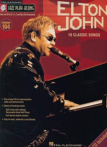 Jazz Play Along Volume 104 Elton John Bk/Cd (Hal Leonard Jazz Play-Along) from Hal Leonard