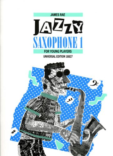 Jazzy Saxophone 1 - Saxophone - Book from Universal Edition