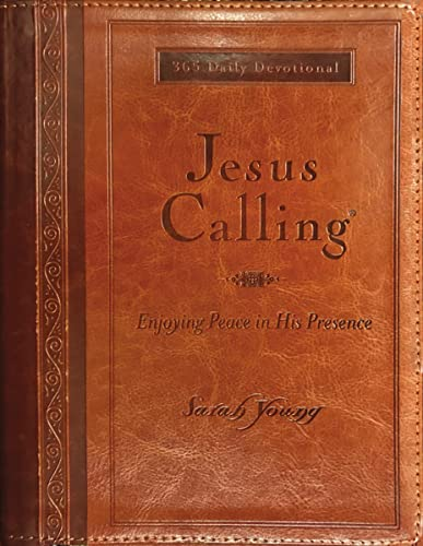 Jesus Calling: Enjoying Peace in His Presence: Enjoying Peace in His Presence (with Full Scriptures) (Jesus Calling (R)) from Thomas Nelson