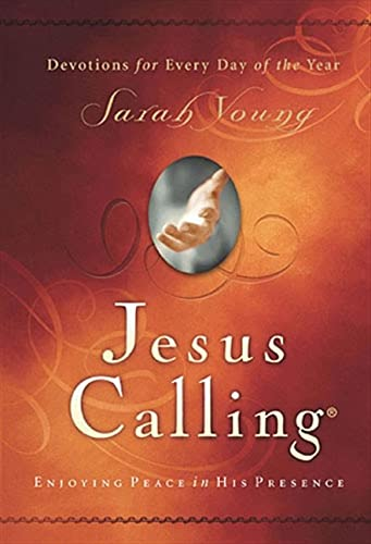 Jesus Calling: Enjoying Peace in His Presence (Jesus Calling (R)) from Thomas Nelson Publishers