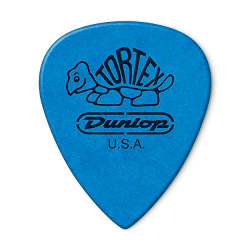 "Jim Dunlop 462P100 ""Tortex III 1.00 Player"" Pick - Blue (Pack of 12) from Jim Dunlop"
