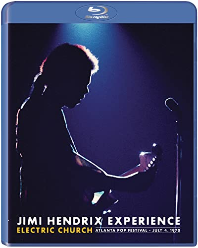 Jimi Hendrix Experience: Electric Church [Blu-ray] [2015] [Region Free] from Sony Music Cmg