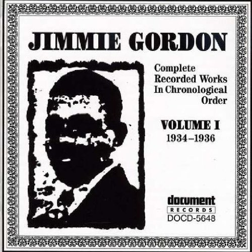 Jimmie Gordon, Vol. 1: 1934-1936