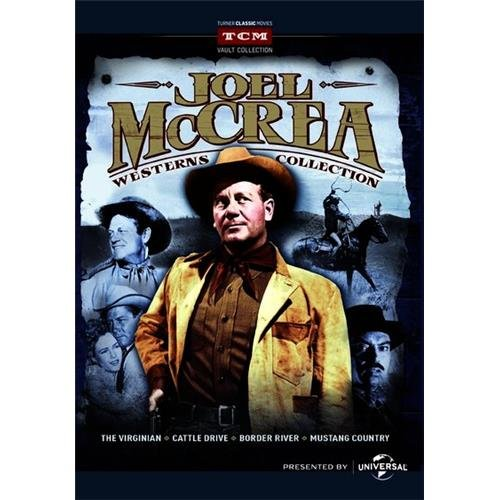 Joel McCrea Westerns Collection (The Virginian / Cattle Drive / Border River / Mustang Country) from Universal Studios