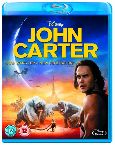 John Carter [Blu-ray] [Region Free] from Walt Disney Studios Home Entertainment