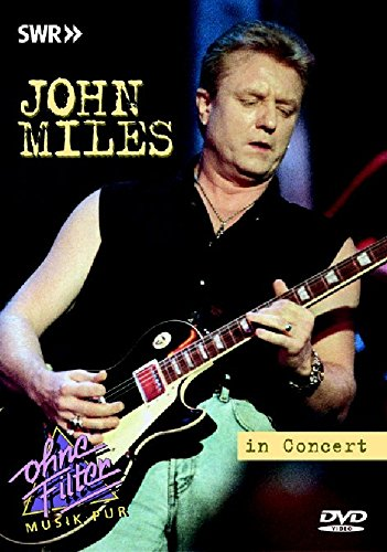 John Miles - In Concert: Ohne Filter [DVD] [NTSC] from Inakustik