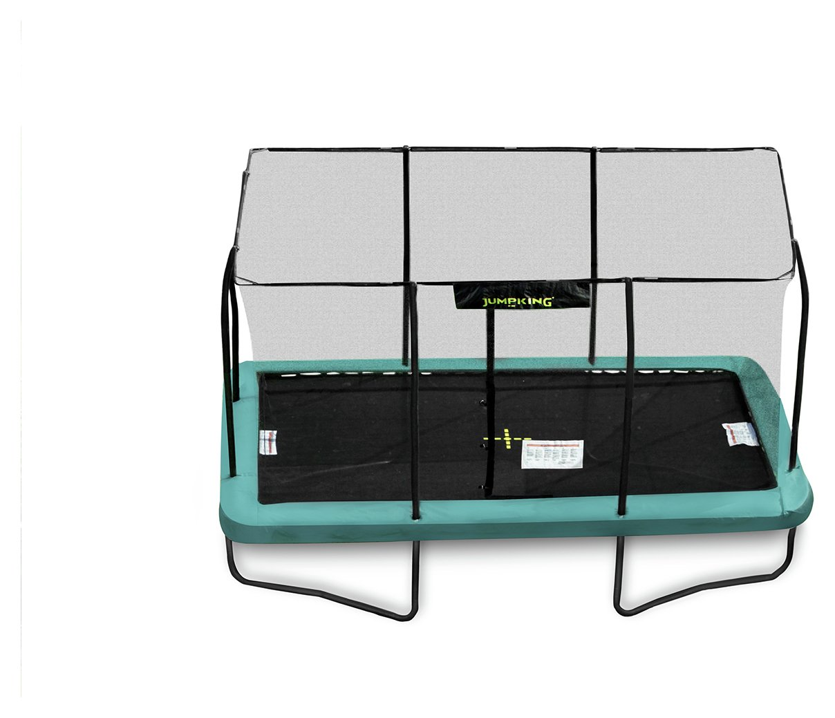 Jumpking 10ft x 14ft Rectangular Trampoline with Enclosure from Jumpking