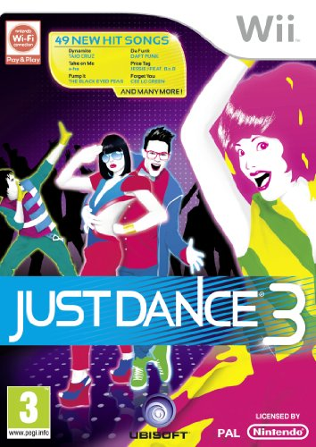 Just Dance 3 (Wii) from Ubisoft