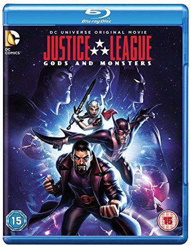 Justice League: Gods and Monsters [Blu-ray] [2015] [Region Free] from Warner Home Video