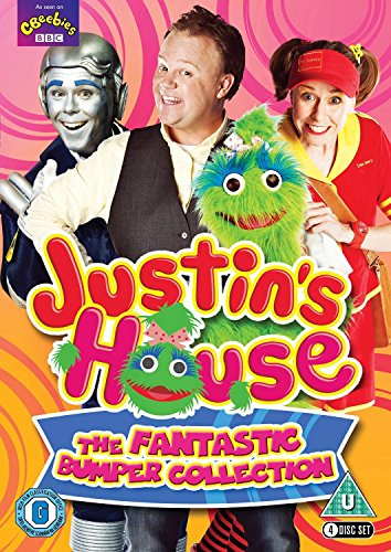 Justin's House: The Fantastic Bumper Collection (4 DVD Set) [DVD] from Spirit Entertainment Limited