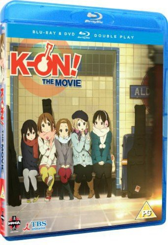K-On! The Movie Blu-ray / DVD Double Play from Manga Entertainment
