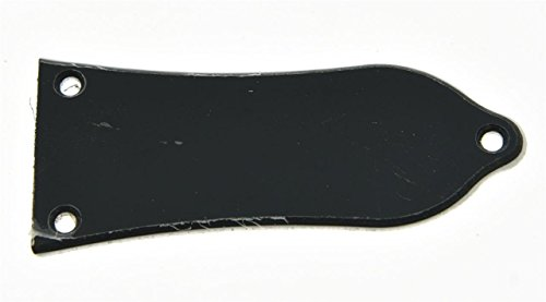 KAISH 2 Ply White/Black Blank Truss Rod Cover 3 Hole For Epiphone Style Les Paul LP from KAISH