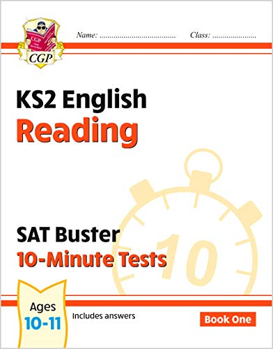 KS2 English SAT Buster 10-Minute Tests: Reading - Book 1 (for the tests in 2018 and beyond) (CGP KS2 English SATs) from Coordination Group Publications Ltd (CGP)