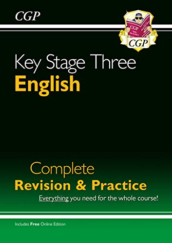New KS3 English Complete Study & Practice (with Online Edition) (CGP KS3 English) from Coordination Group Publications Ltd (CGP)