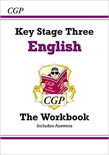 KS3 English Workbook (with answers) (CGP KS3 English) from Coordination Group Publications Ltd (CGP)