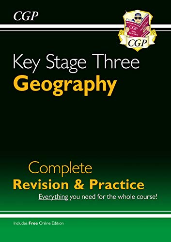 KS3 Geography Complete Study & Practice (CGP KS3 Humanities) from Coordination Group Publications Ltd (CGP)