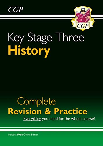KS3 History Complete Study & Practice (CGP KS3 Humanities) from Coordination Group Publications Ltd (CGP)