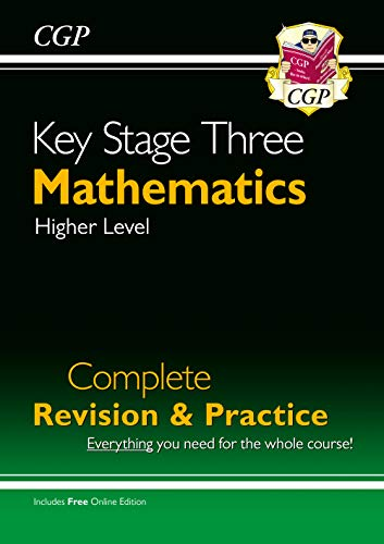 New KS3 Maths Complete Study & Practice (with Online Edition) (CGP KS3 Maths) from Coordination Group Publications Ltd (CGP)