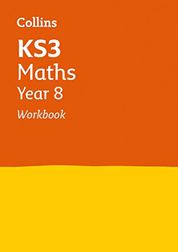 KS3 Maths Year 8 Workbook (Collins KS3 Revision) from HarperCollins Publishers