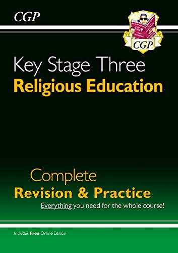 KS3 Religious Education Complete Study & Practice (CGP KS3 Humanities) from Coordination Group Publications Ltd (CGP)