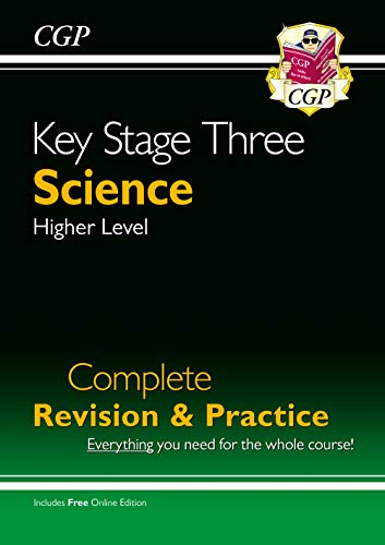 New KS3 Science Complete Study & Practice - Higher (with Online Edition) (CGP KS3 Science) from Coordination Group Publications Ltd (CGP)