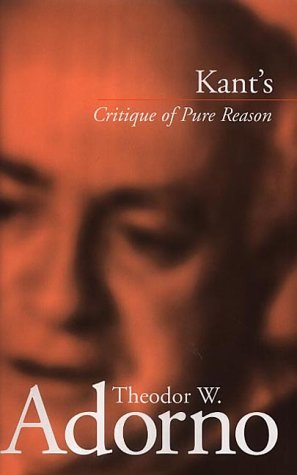 "Kant's ""Critique of Pure Reason"" from Polity Press"