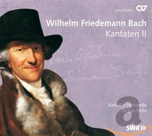 Wilhelm Friedemann Bach: Cantatas Vol. 2 from CARUS