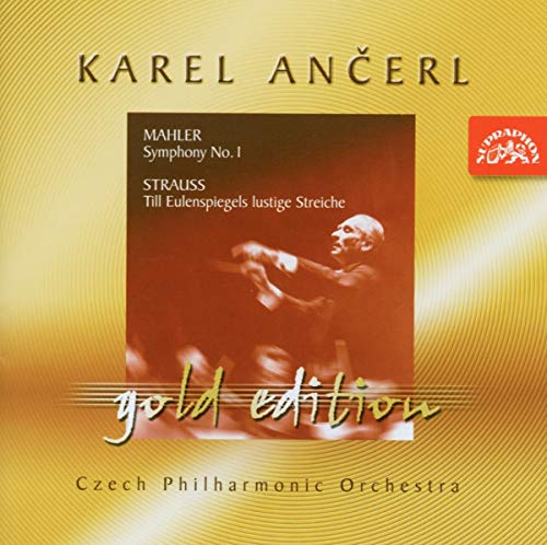 Karel Ancerl Gold Edition Vol.6. Mahler - Symphony No 1; Strauss - Till Eulenspiegel from SUPRAPHON