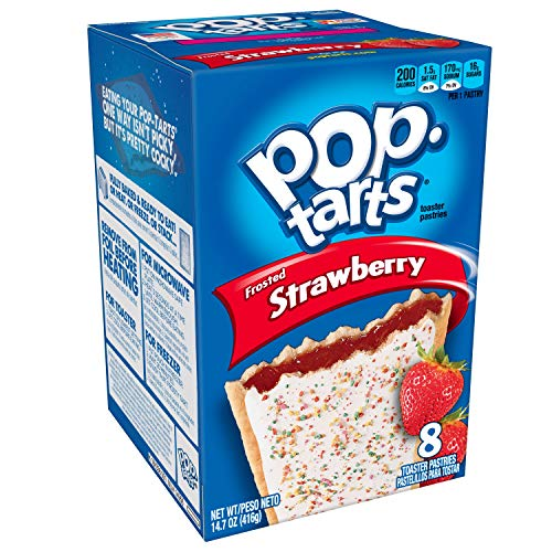 Kellogg's Frosted Strawberry Pop-Tarts 416 g from Pop-Tarts