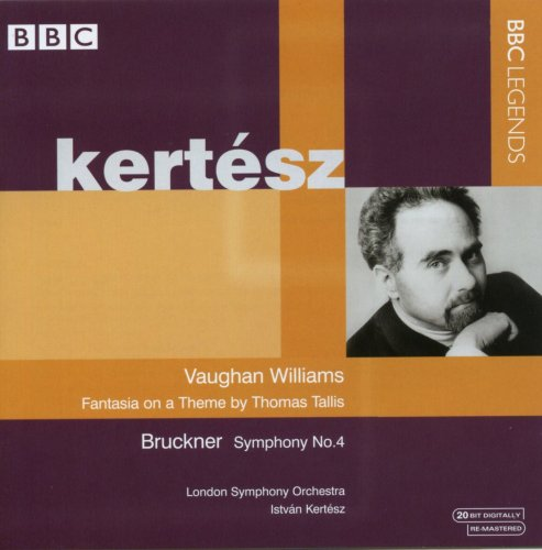 Kertesz: Vaughan Williams (Vaughan Williams: Thomas Tallis Fantasia/ Bruckner: Symphony No.4)