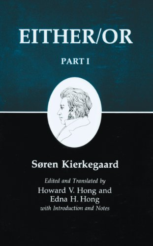 Kierkegaards Writings: Either/Or Part 1 (Kierkegaard's Writings) from Princeton University Press