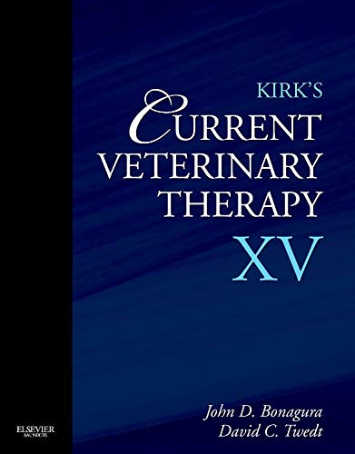 Kirk's Current Veterinary Therapy XV, 1e from Saunders