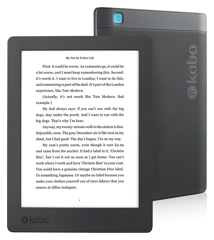 Kobo New Aura H20 E-Reader from kobo