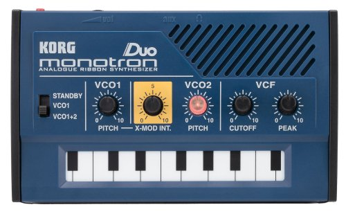 KORG MONOTRON-DUO Analog Ribbon Synth with Dual Oscillator and Built-in Speaker from Korg