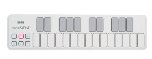 KORG nanoKEY2 - USB MIDI Keyboard - 25 Key - White from Korg