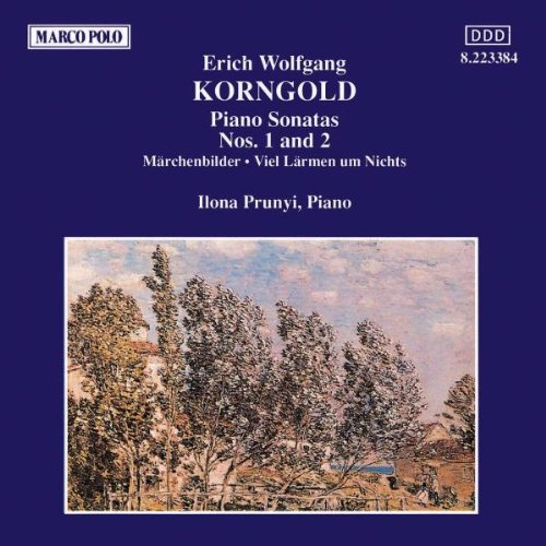 Korngold: Piano Sonatas Nos. 1 and 2 from ja