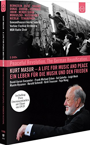 Kurt Masur - A life for music and peace (DVD) [2016] from EuroArts