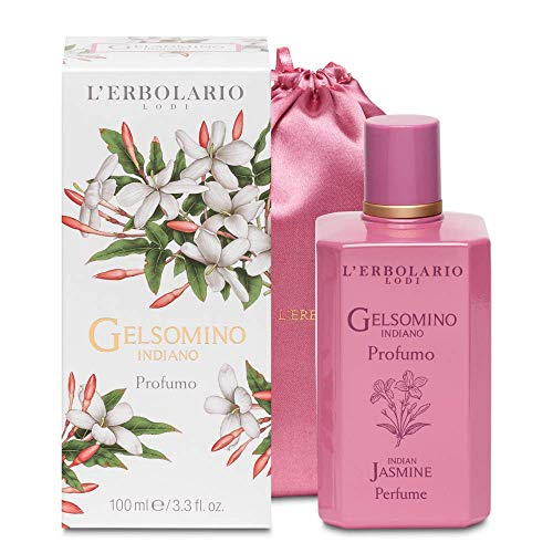 L'Erbolario 066.139 Indian Jasmine Limited Edition Perfume with Cotton Bag from L'Erbolario