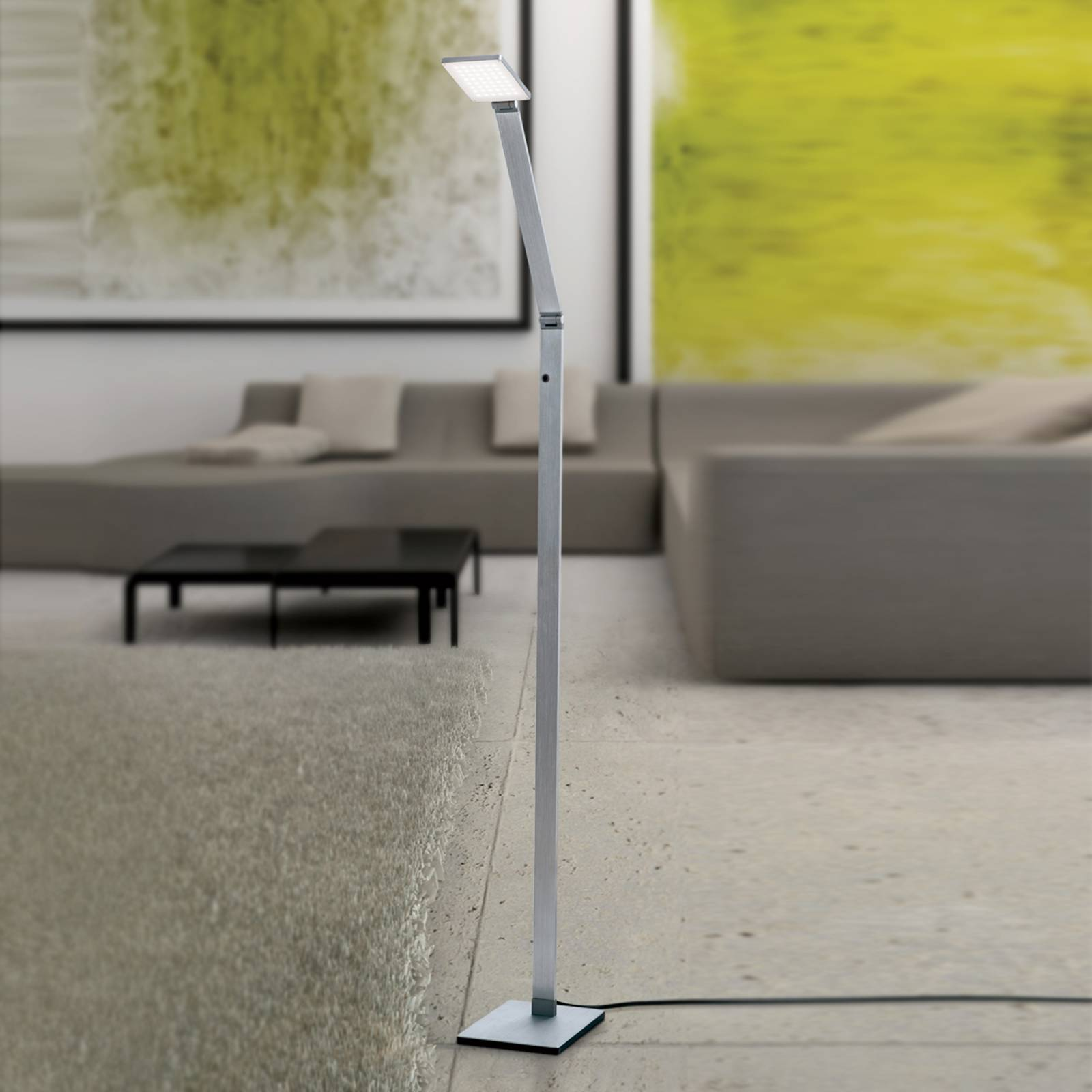 LED floor lamp Ayana - touch dimmer included from Orion