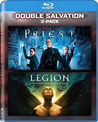 LEGION (2010) / PRIEST (2011) from Sony Pictures Home Entertainment