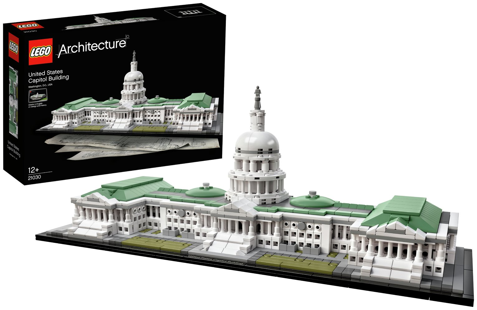LEGO - Architecture United States Capitol Building Set from LEGO